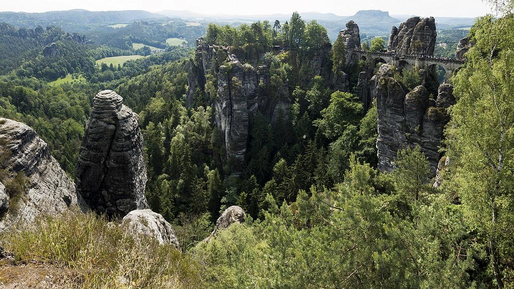 Sächsische Schweiz, fotograferen vanuit mijn basis