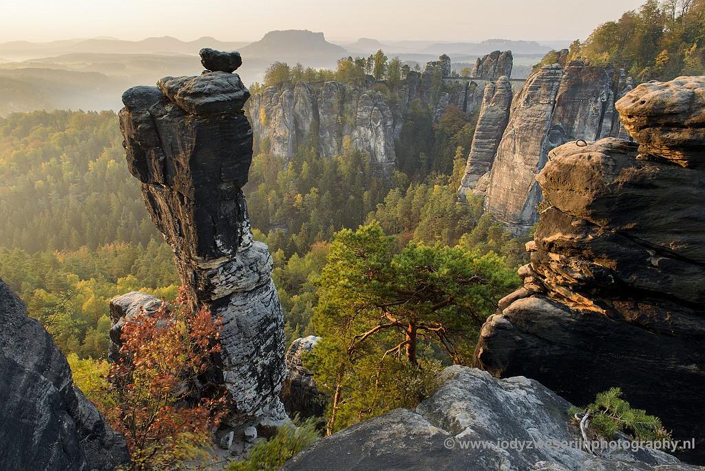 Fotografische hoogtepunten in NP Sächsische Schweiz