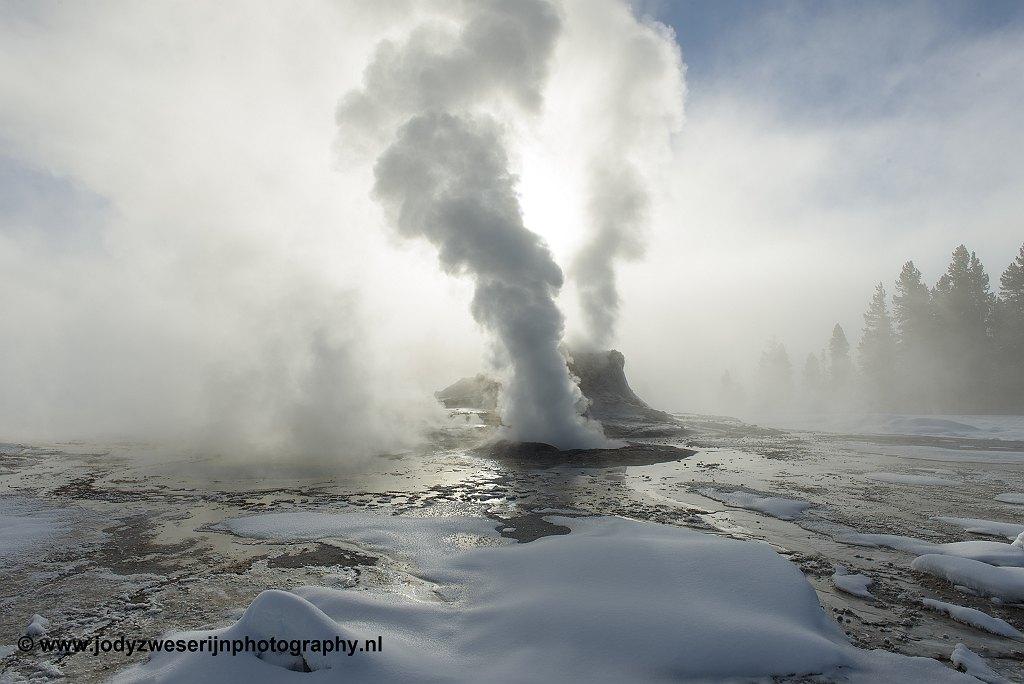 Yellowstone volcanoe hotspots